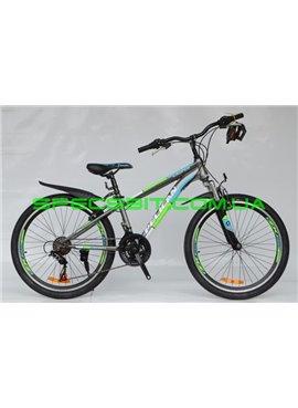 Велосипед Pelican 24 CASPER рама-13 серо-син-зел