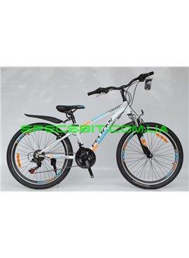 Велосипед Pelican 24 CASPER рама-13 бело-син-оранж