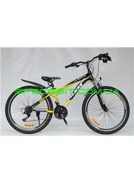 Велосипед Pelican 26 JUMP рама-14 желт-черн-бел