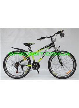 Велосипед Pelican 26 JUMP рама-14 зел-бел-черн