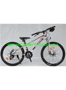 Велосипед Pelican 24 TRAFFIC рама-12 бел-черн-красн