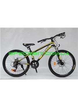 Велосипед Pelican 24 TRAFFIC рама-12 черн-желт-бел