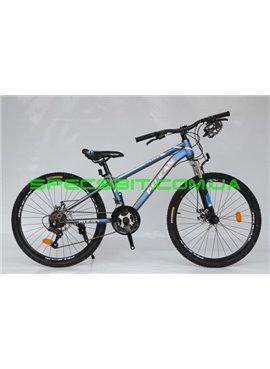 Велосипед Pelican 24 RANGER рама-12 серо-бел-син