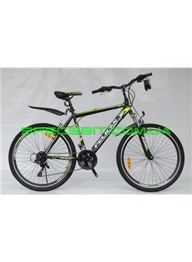 Велосипед Pelican 26 М002 рама-20 черн-зел-бел