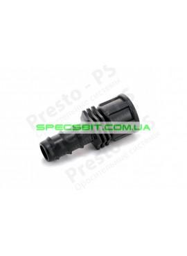 Старт для капельной трубки 20 мм с внутренней резьбой 3/4 дюйма Presto (Престо) № FC-012034