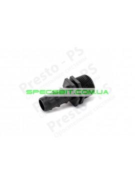 Старт для капельной трубки 20 мм с наружной резьбой 1/2 дюйма Presto (Престо) № MC-012012