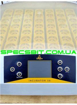 Бытовой инкубатор автоматический Теплуша Europe 56 S встроенный овоскоп
