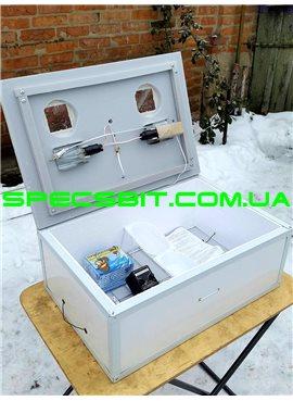 Инкубатор Курочка Ряба ИБ-100 механический переворот 100 яиц в пластике