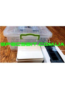 Инкубатор Курочка Ряба ИБ-56 автомат на 56 яиц, вентилятор, пластиковый бокс