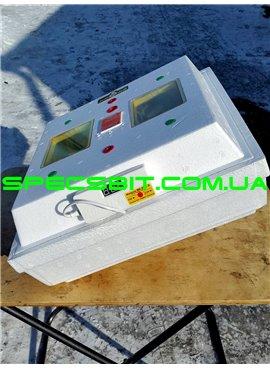 Инкубатор Квочка МИ-30-1-Э-С 80 яиц, цифровой, механический переворот, вентилятор, лампы