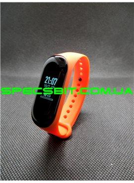 Фитнес-браслет Xiaomi Mi Band 3 Оранжевый РУССКИЙ ЯЗЫК