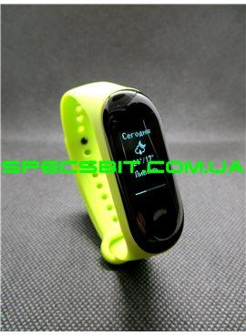 Фитнес-браслет Xiaomi Mi Band 3 Зеленый РУССКИЙ ЯЗЫК