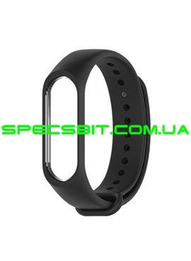 Ремешок для Xiaomi Mi Band 3 Black (Черный)