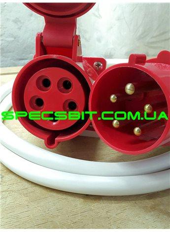 Кабель подключения КП4 Термия (230В/400В) 6,0 кВт,12 кВт, 15 кВт, 18 кВт с розеткой