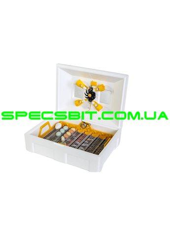 Инкубатор инверторный Теплуша Люкс 72  ИБ 220/50 ЛА(В) автомат, лампы, влагомер