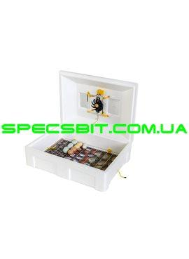 Инкубатор с механическим переворотом Инверторный Теплуша 100 ИБ 220/50 ТМ ТЭН Вентилятор
