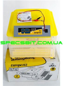 Инкубатор автоматический Теплуша Europe 112 автомат, ТЭН, влагомер, +12 Вольт