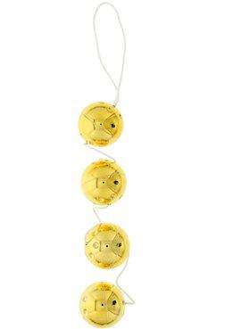 Вагинальные шарики 4 GOLD VIBRO BALLS DT50177 Seven Creations