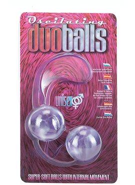 Вагинальные шарики Marbelized DUO BALLS,PINK DT50504 Seven Creations