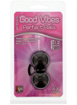 Вагинальные шарики Perfect Balls, BLACK DT20078 Dream Toys